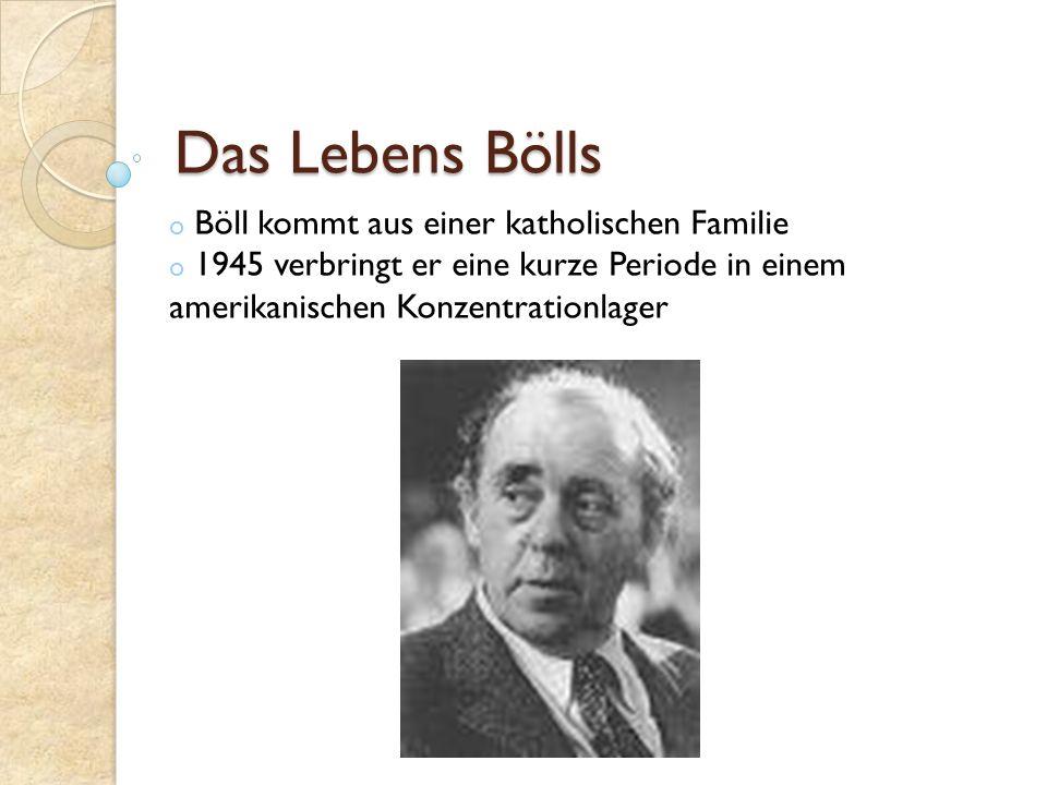 Das Lebens Bölls Böll kommt aus einer katholischen Familie