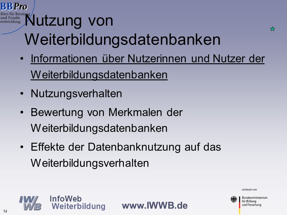 Geschlecht der Nutzerinnen und Nutzer von Weiterbildungsdatenbanken (in %, N=1.377)