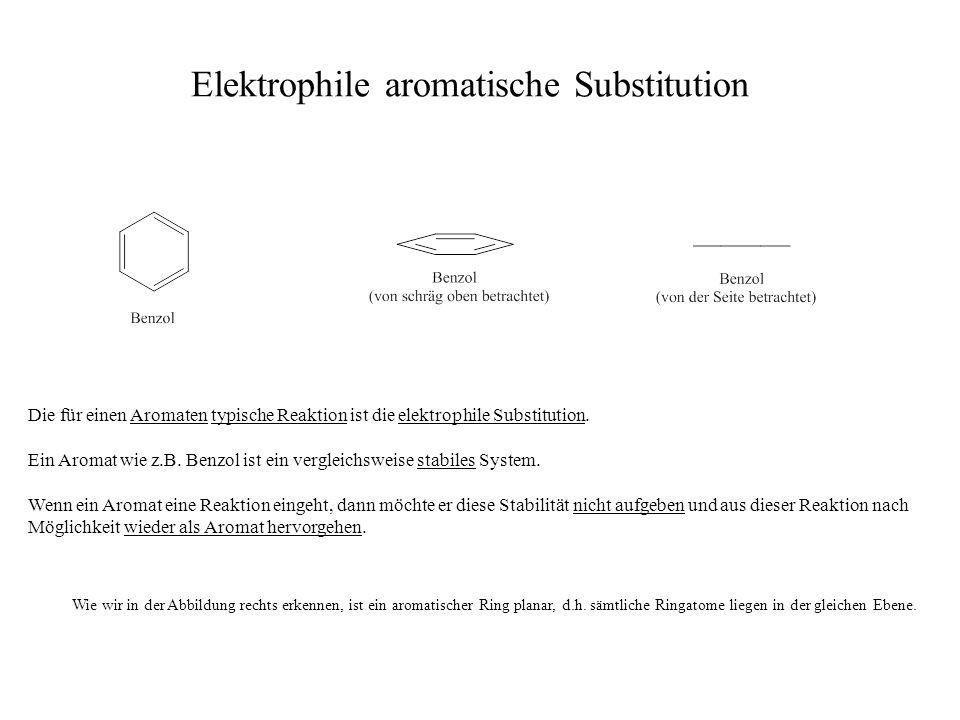 Elektrophile aromatische Substitution