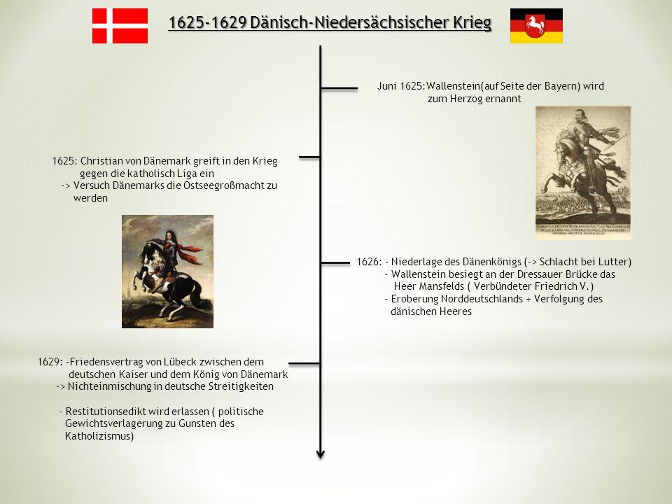 1625-1629 Dänisch-Niedersächsischer Krieg