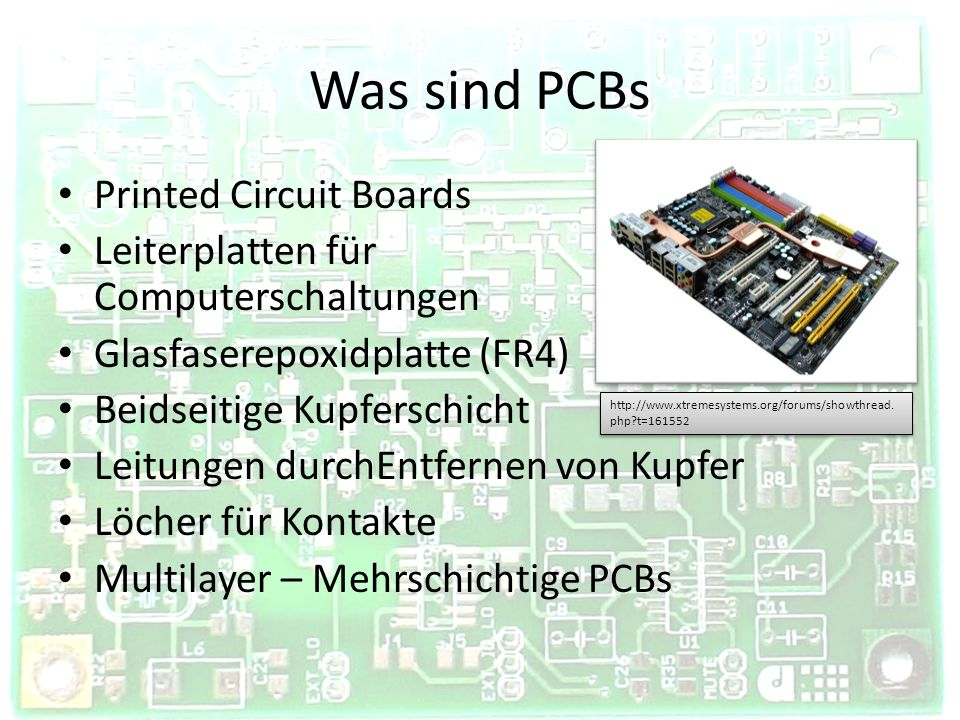 Was sind PCBs Printed Circuit Boards