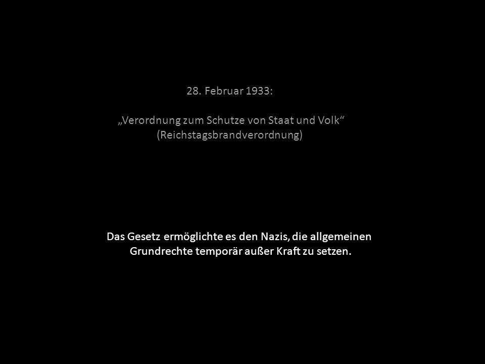"""""""Verordnung zum Schutze von Staat und Volk"""