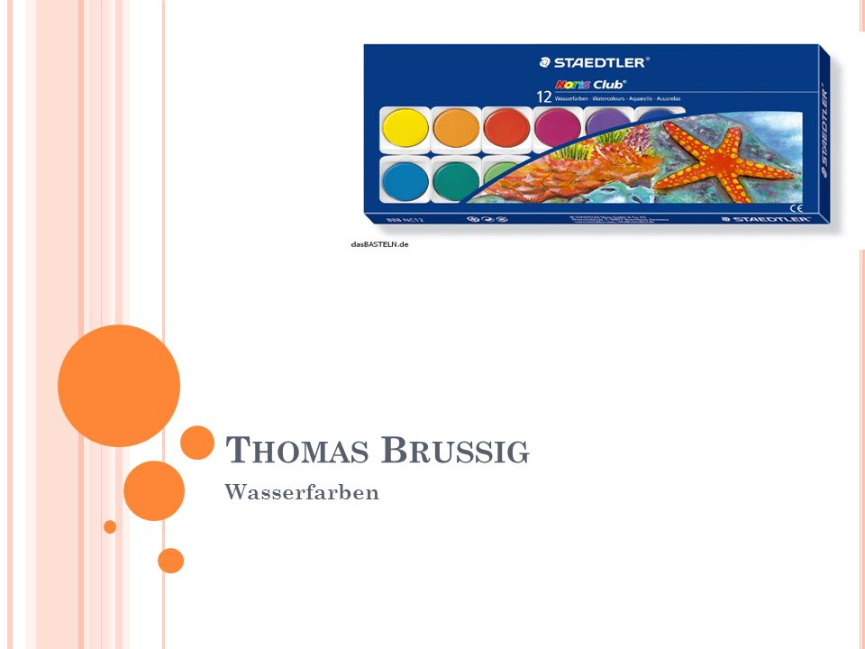 Thomas Brussig Wasserfarben
