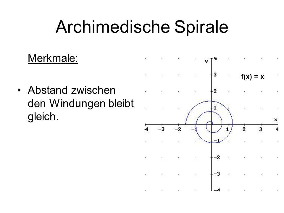 Archimedische Spirale