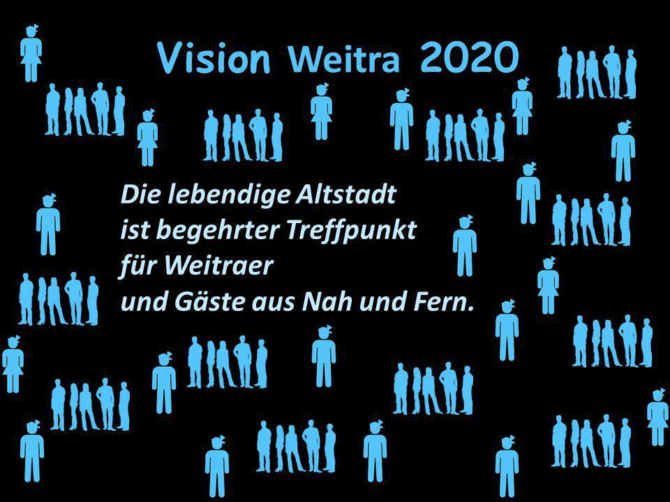 Vision Weitra 2020 Die lebendige Altstadt ist begehrter Treffpunkt