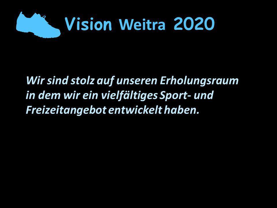 Vision Weitra 2020 Wir sind stolz auf unseren Erholungsraum