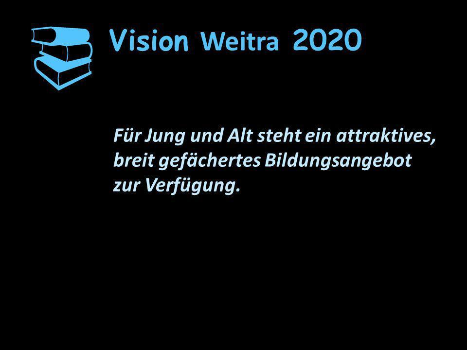 Vision Weitra 2020 Für Jung und Alt steht ein attraktives, breit gefächertes Bildungsangebot.
