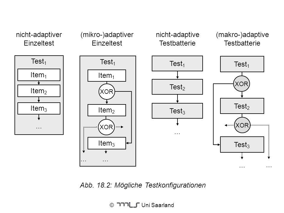 (makro-)adaptive Testbatterie