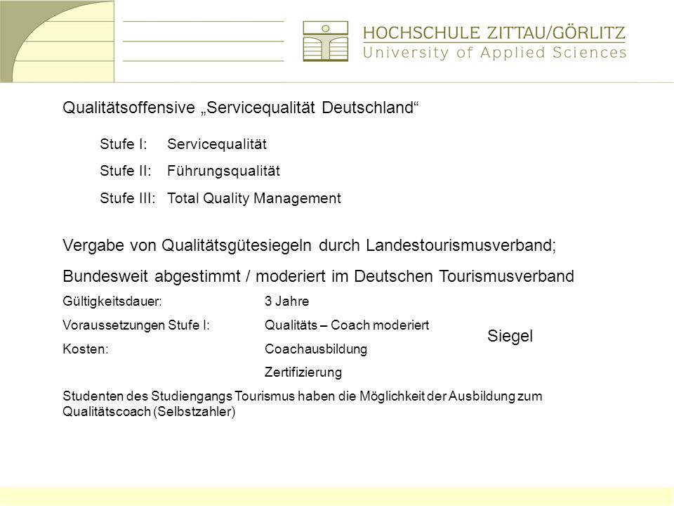 """Qualitätsoffensive """"Servicequalität Deutschland"""