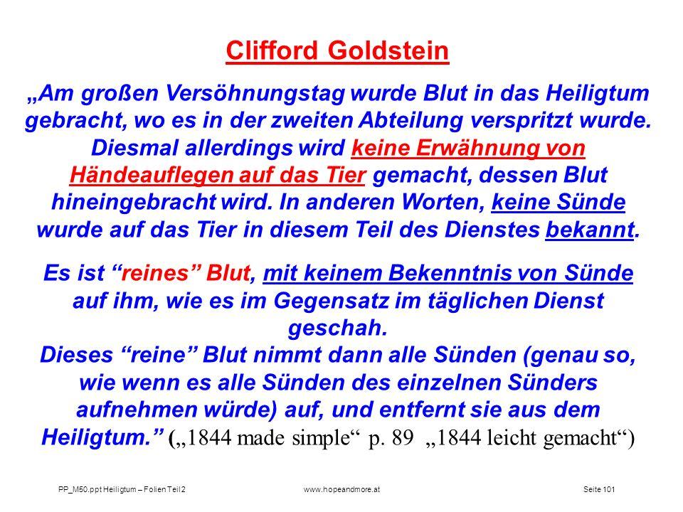 Clifford Goldstein