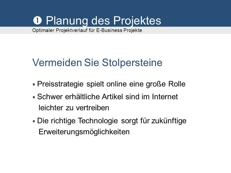  Planung des Projektes