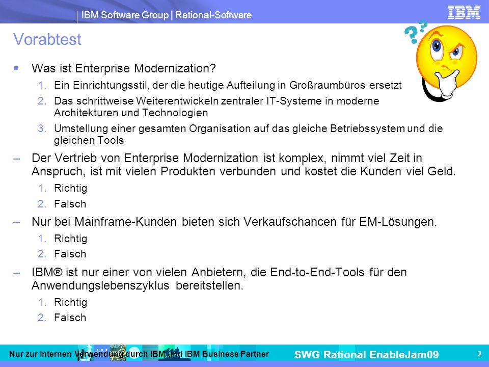Vorabtest Was ist Enterprise Modernization