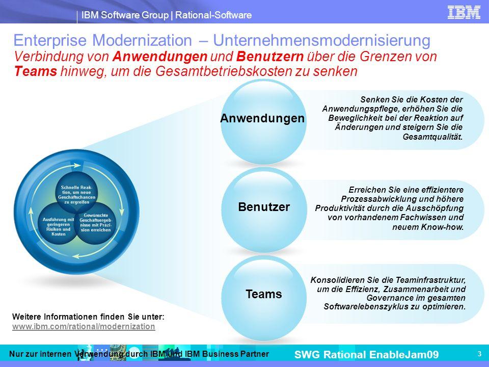 Enterprise Modernization – Unternehmensmodernisierung Verbindung von Anwendungen und Benutzern über die Grenzen von Teams hinweg, um die Gesamtbetriebskosten zu senken