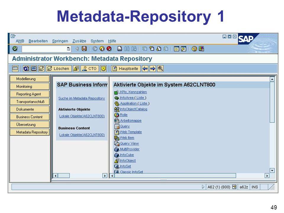 Metadata-Repository 1