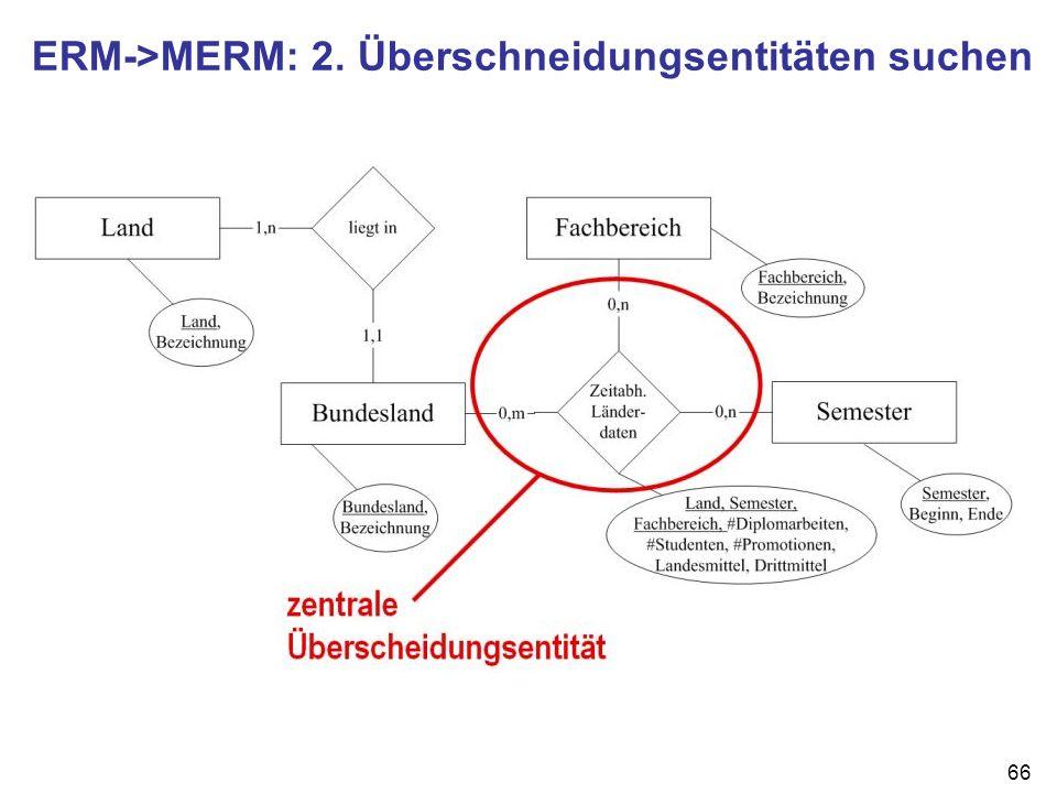 ERM->MERM: 2. Überschneidungsentitäten suchen
