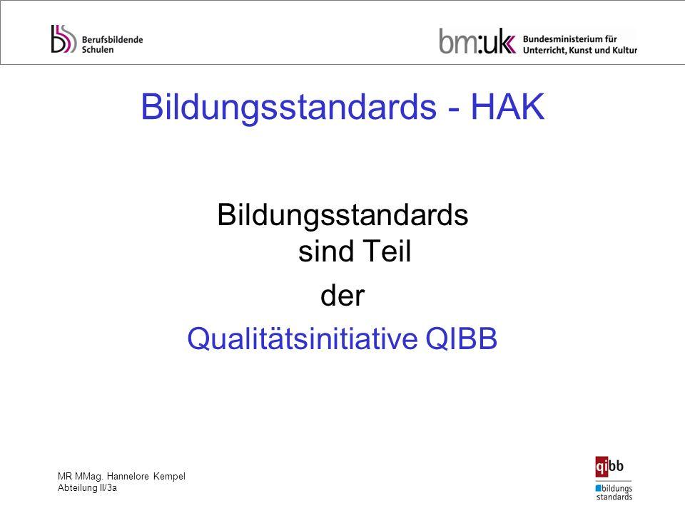 Bildungsstandards - HAK