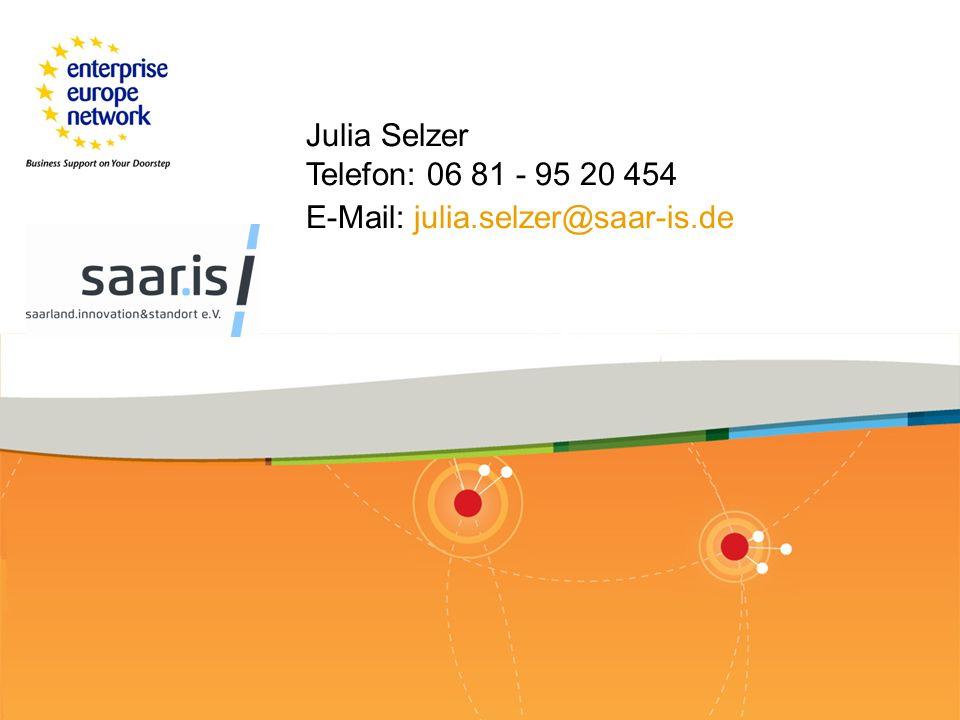 Enterprise Europe Network | ZPT Saarland - Programm 2013