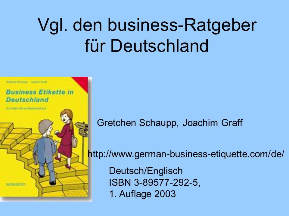 Vgl. den business-Ratgeber für Deutschland