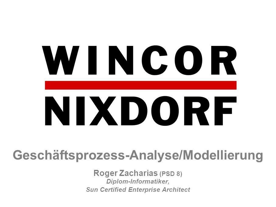 Geschäftsprozess-Analyse/Modellierung