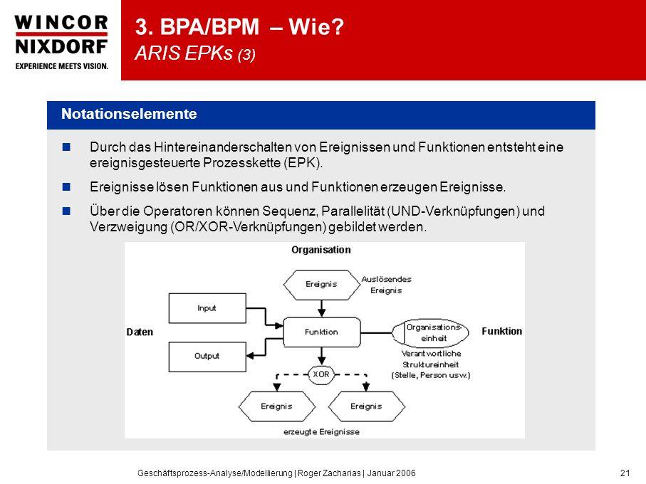 3. BPA/BPM – Wie ARIS EPKs (3)