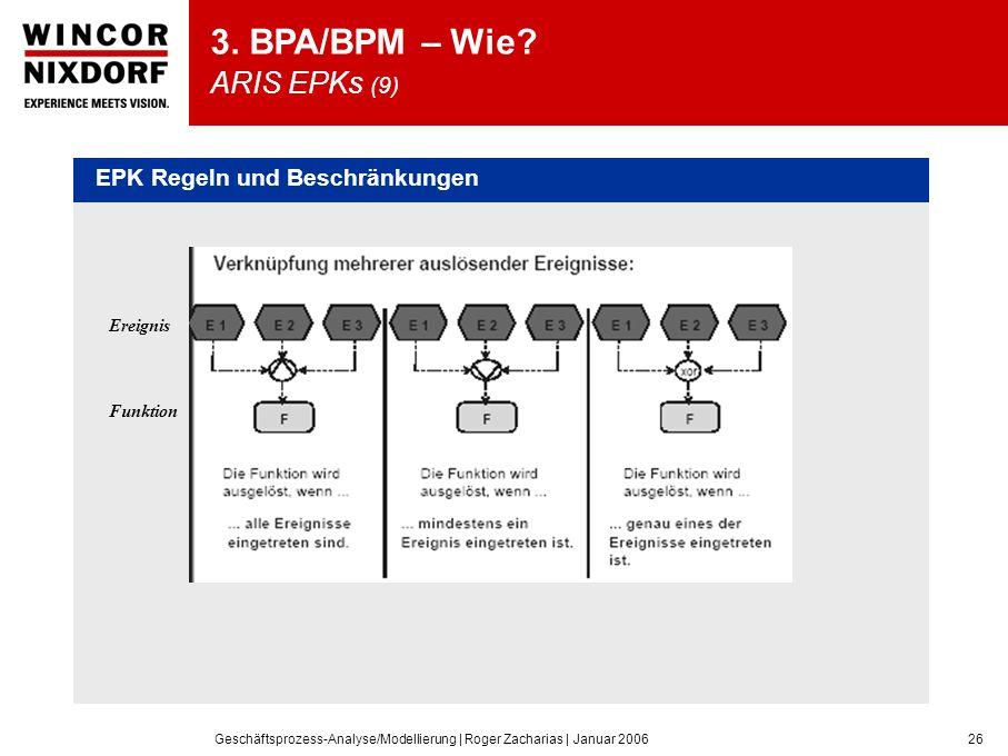 3. BPA/BPM – Wie ARIS EPKs (9)