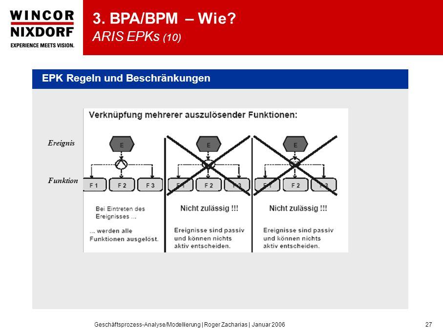 3. BPA/BPM – Wie ARIS EPKs (10)
