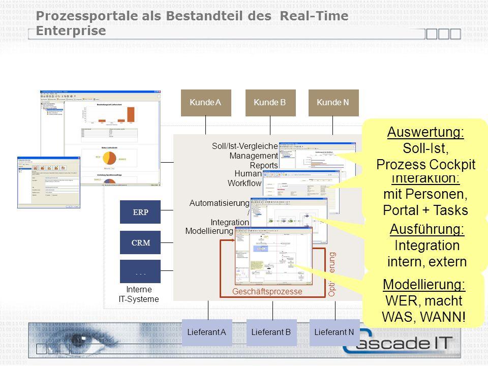 Prozessportale als Bestandteil des Real-Time Enterprise
