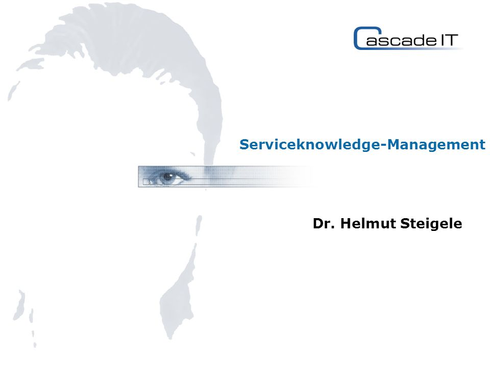Serviceknowledge-Management