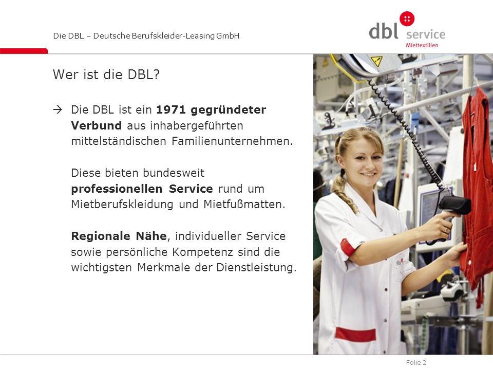Wer ist die DBL