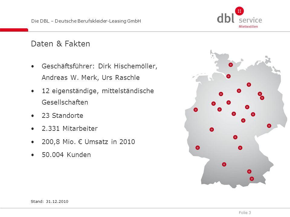 Daten & Fakten Geschäftsführer: Dirk Hischemöller, Andreas W. Merk, Urs Raschle. 12 eigenständige, mittelständische Gesellschaften.