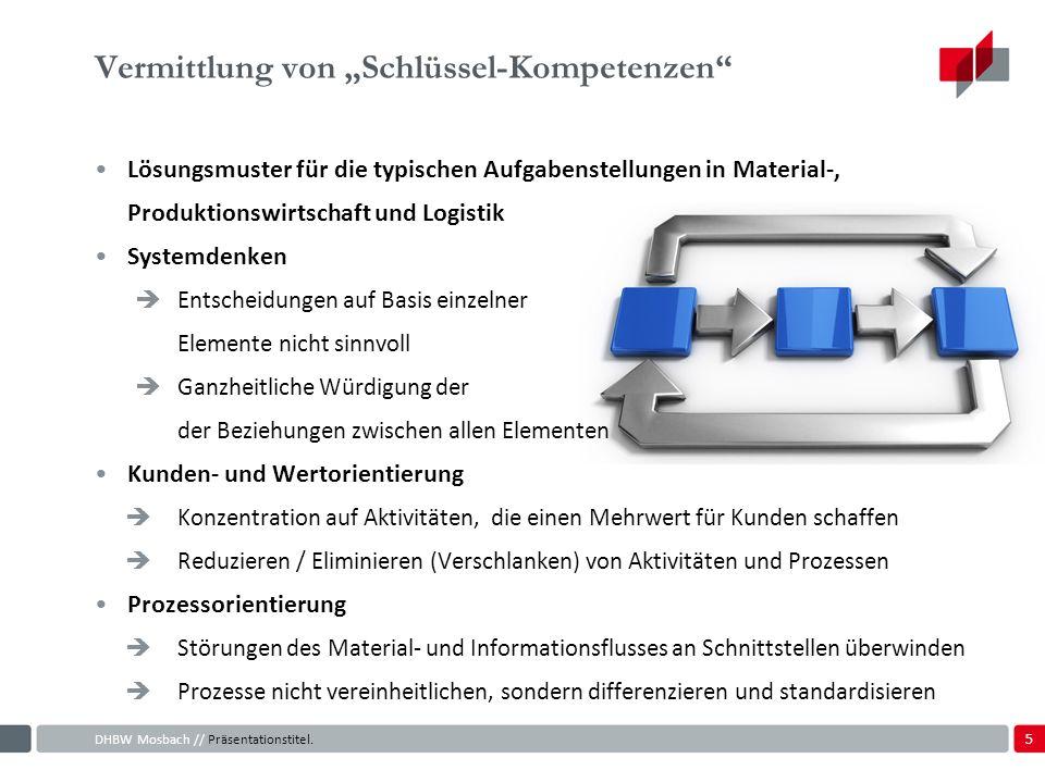 """Vermittlung von """"Schlüssel-Kompetenzen"""