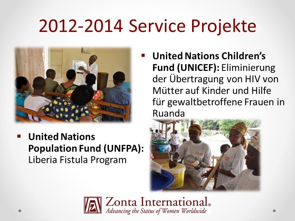 2012-2014 Service Projekte