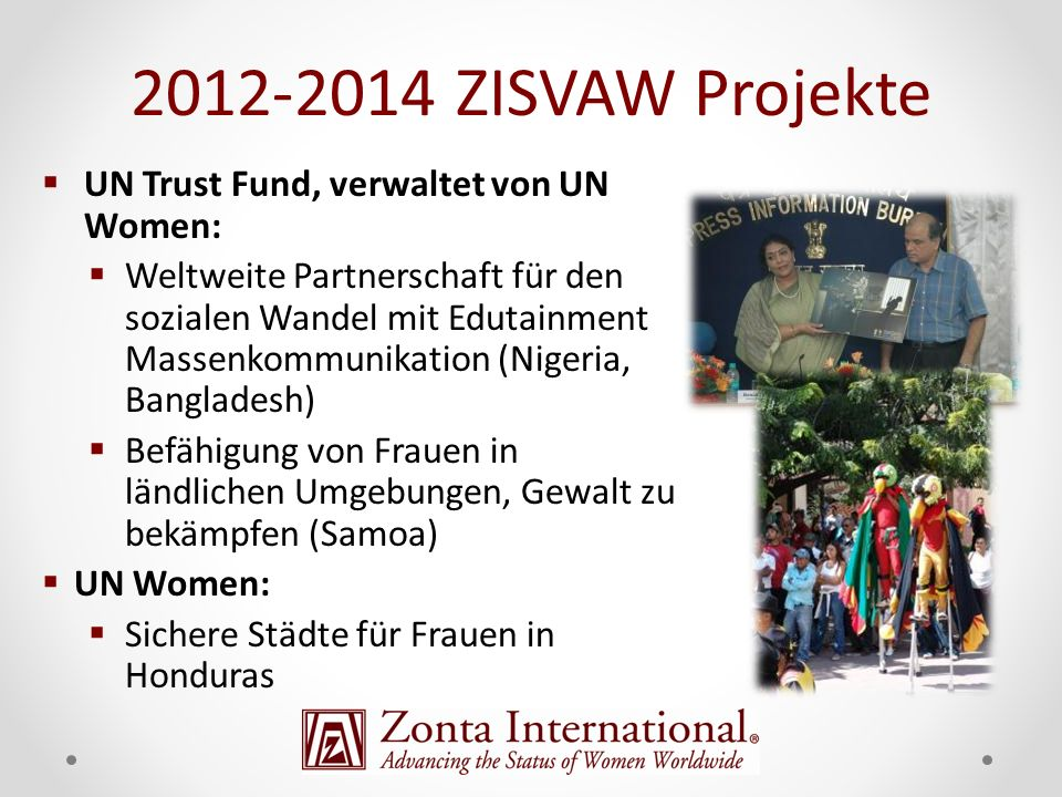 "2012-2014 ZISVAW Projekte ""Breakthrough"