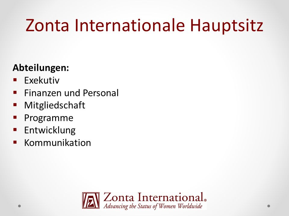 Zonta Internationale Hauptsitz