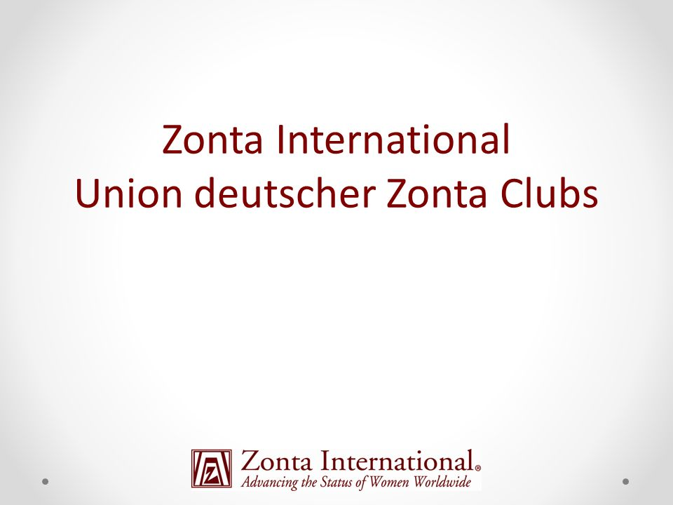 Zonta International Union deutscher Zonta Clubs