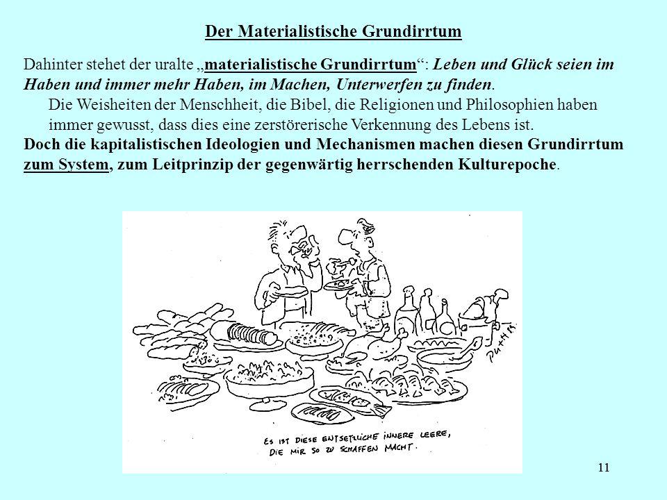 Der Materialistische Grundirrtum