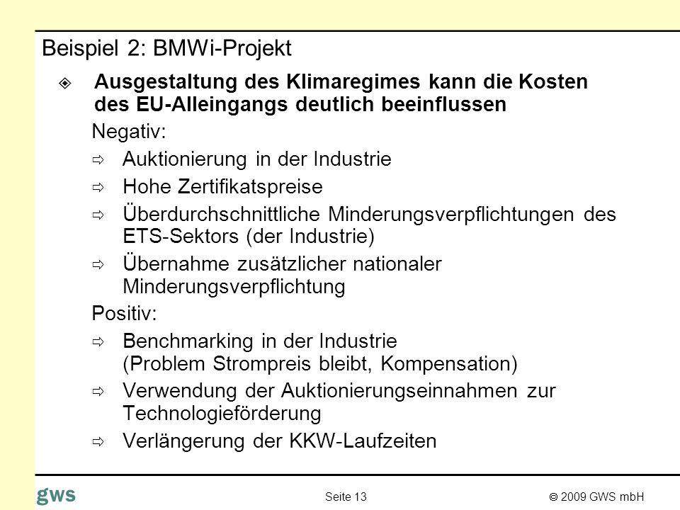 Beispiel 2: BMWi-Projekt