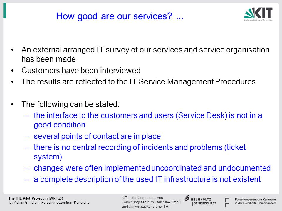 How good are our services ...