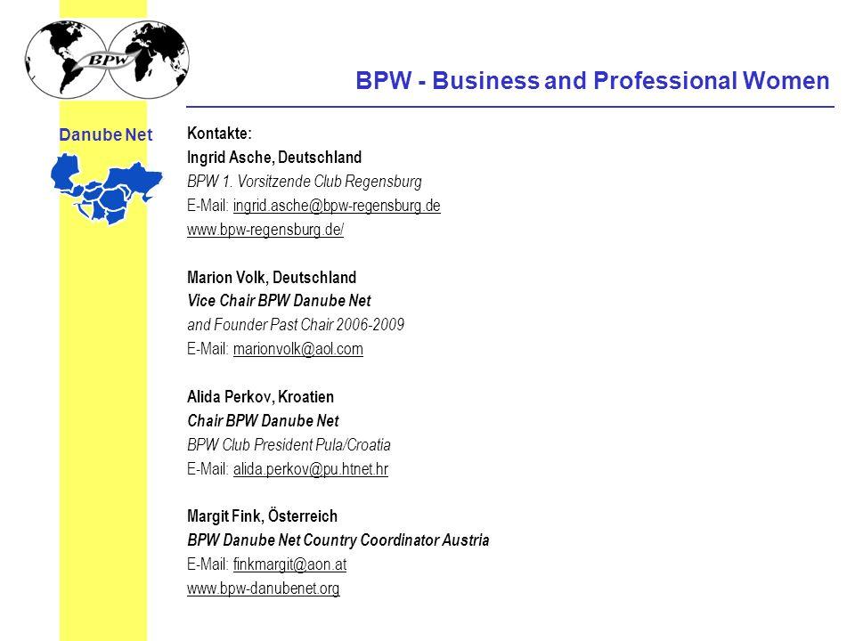 Kontakte: Ingrid Asche, Deutschland BPW 1