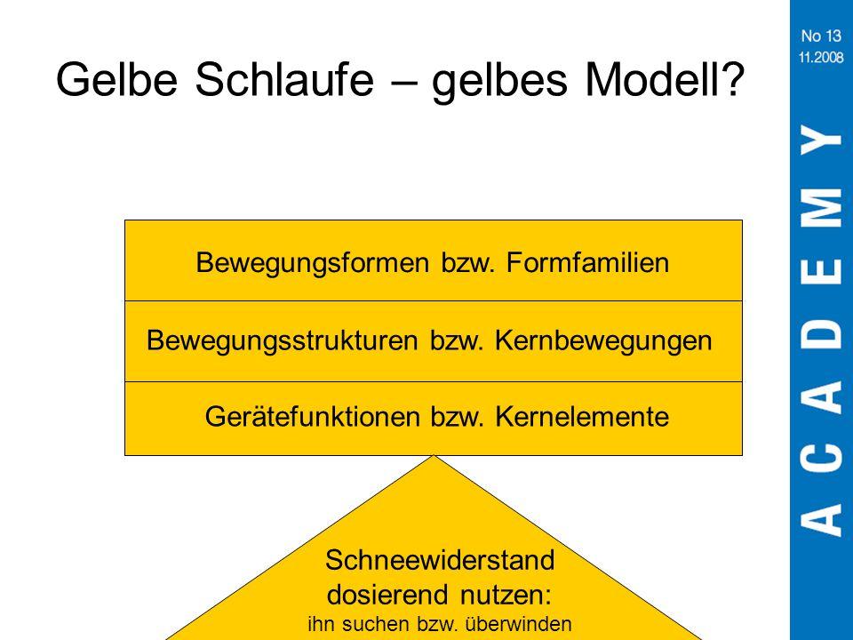Gelbe Schlaufe – gelbes Modell