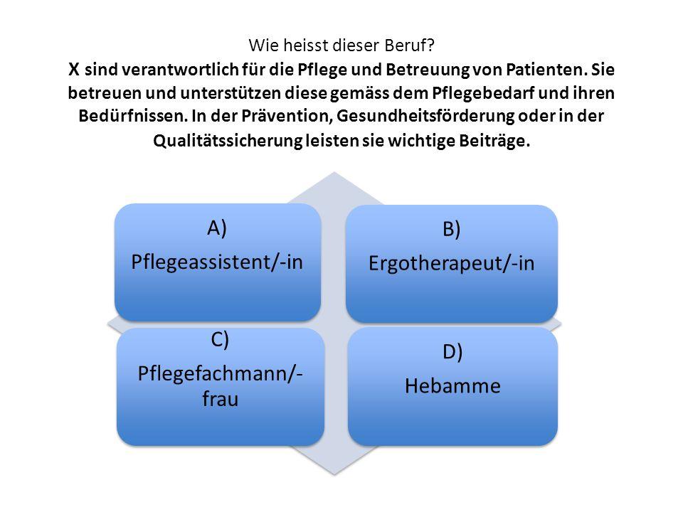 Pflegefachmann/-frau