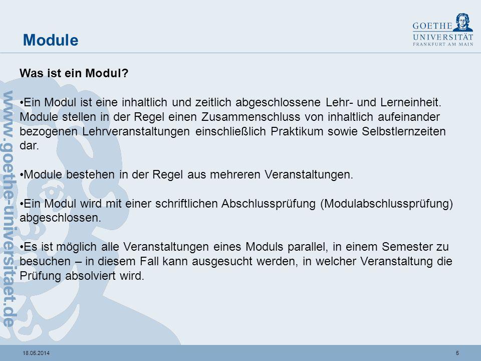 """Bsp.: Veranstaltungen, die dem Modul 7 """"Internationale Beziehungen zugeordnet sind"""
