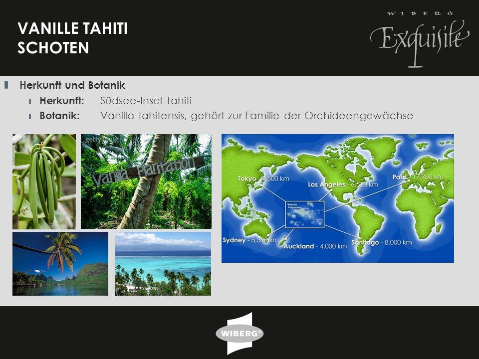 VANILLE TAHITI SCHOTEN