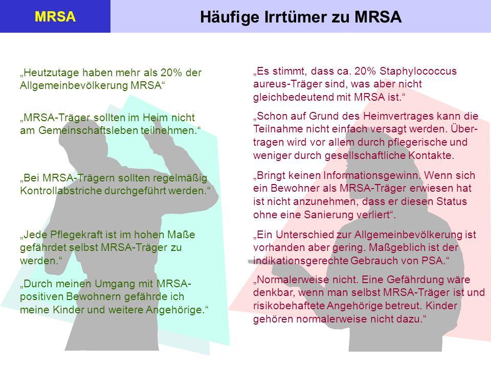 Häufige Irrtümer zu MRSA