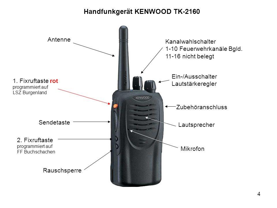 Handfunkgerät KENWOOD TK-2160