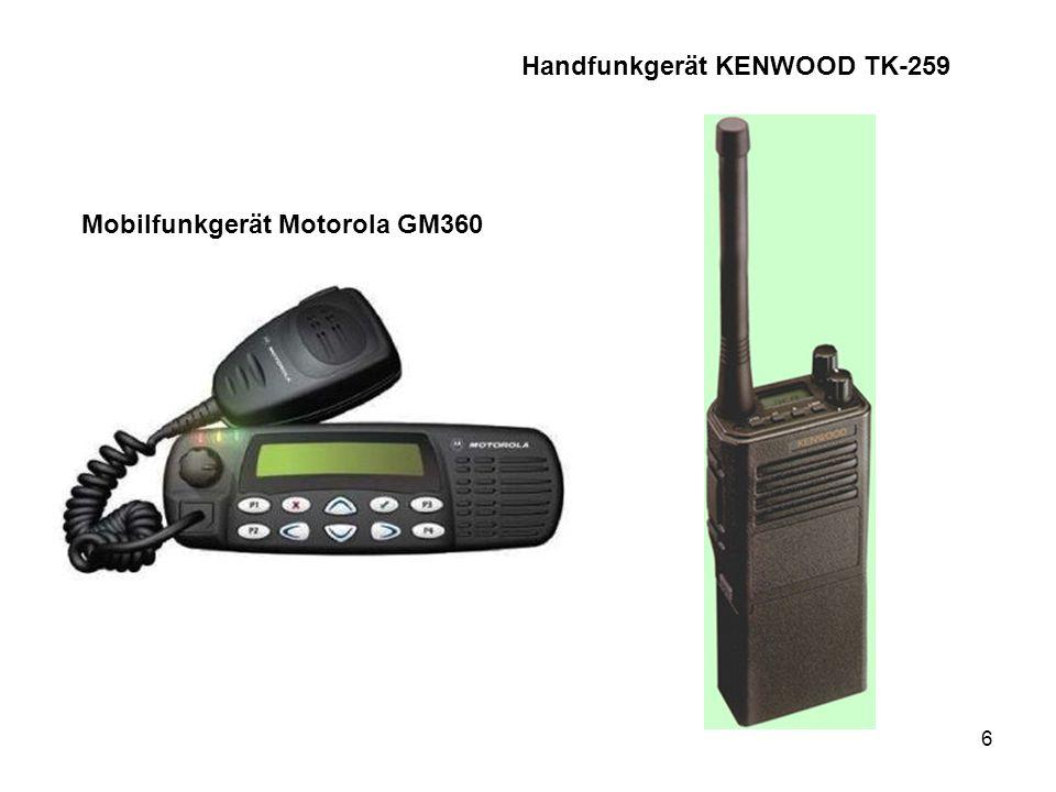 Handfunkgerät KENWOOD TK-259