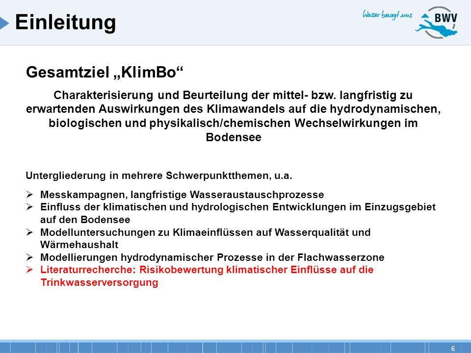 """Einleitung Gesamtziel """"KlimBo"""