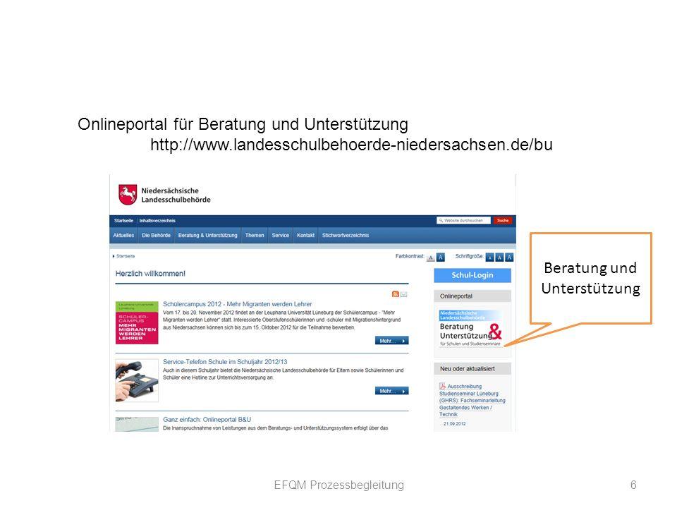 Onlineportal für Beratung und Unterstützung
