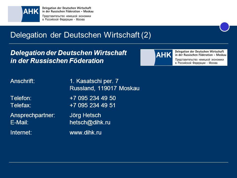 Delegation der Deutschen Wirtschaft (2)