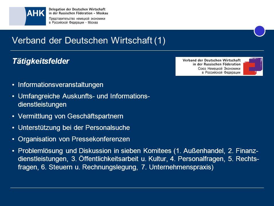 Verband der Deutschen Wirtschaft (1)